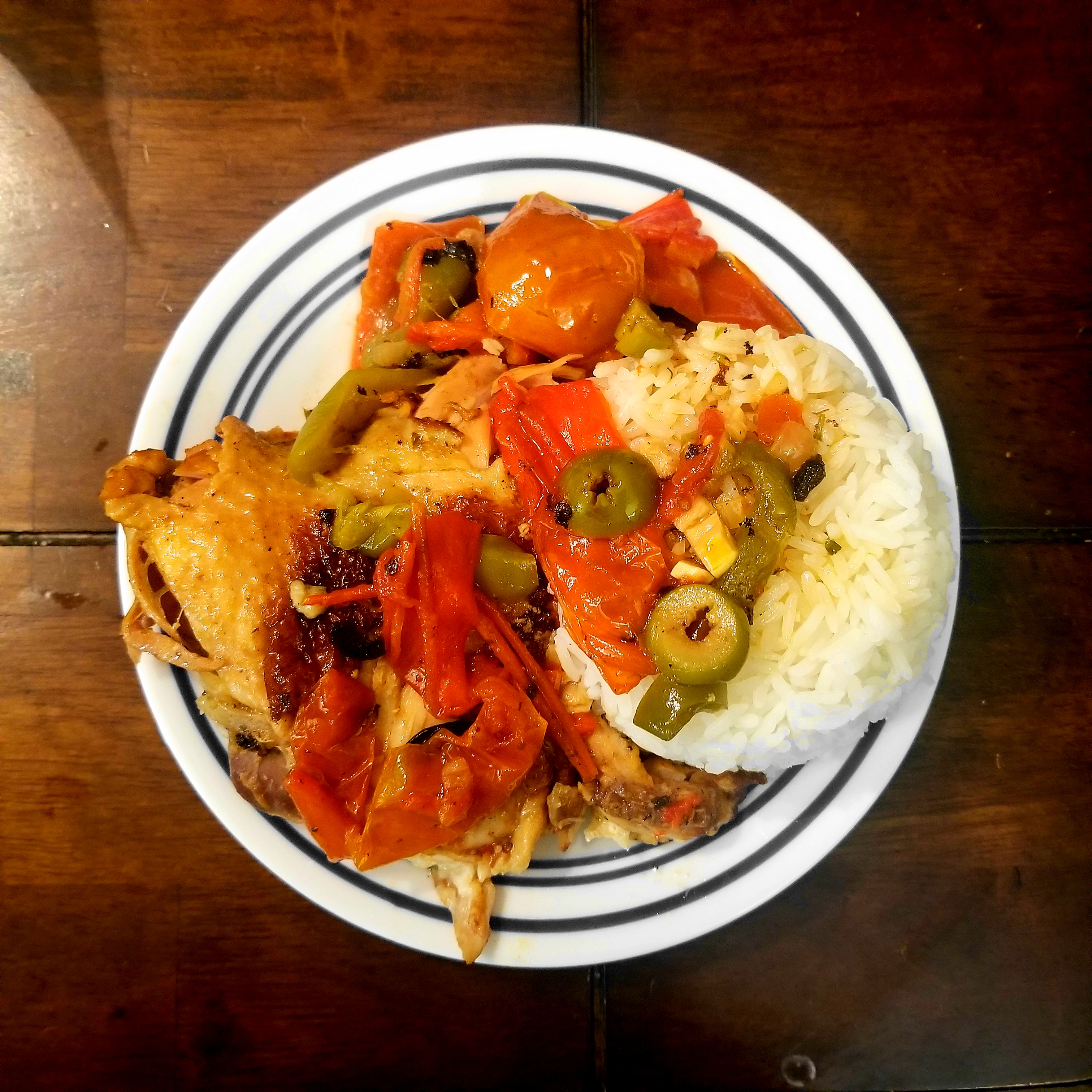 Dominican-Style Chicken Fricassee